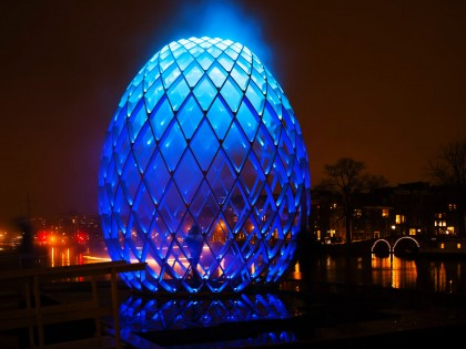 Amsterdam Light Festival 2012/ 2013: De Illuminade
