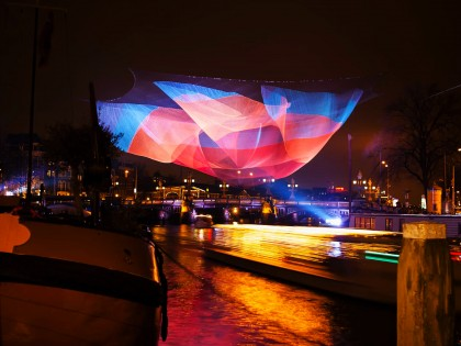 The making of Amsterdam Light Festival 2012/ 2013 Timelapse