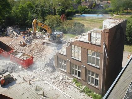 De sloop en nieuwbouw van Bracbant Timelapse