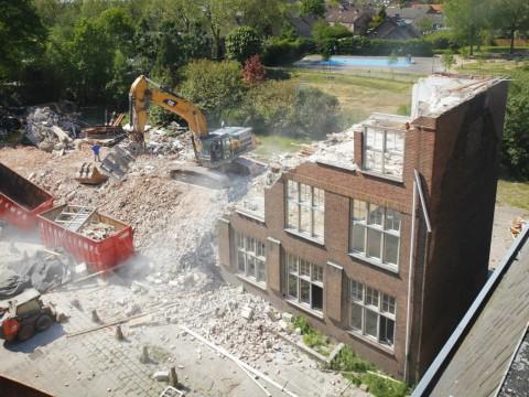 Timelapse sloop en bouw Bracbant