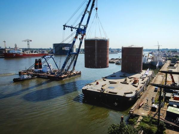 Rotterdam vanaf 30 meter hoogte timelapse