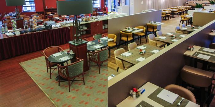 Timelapse: Een nieuwe ontbijtzaal voor het NH Hotel Belfort (Gent)