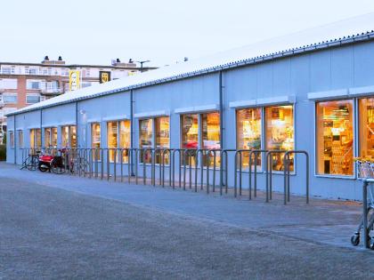 BUKO huisvesting bouwt tijdelijk winkelcentrum Leidsenhage