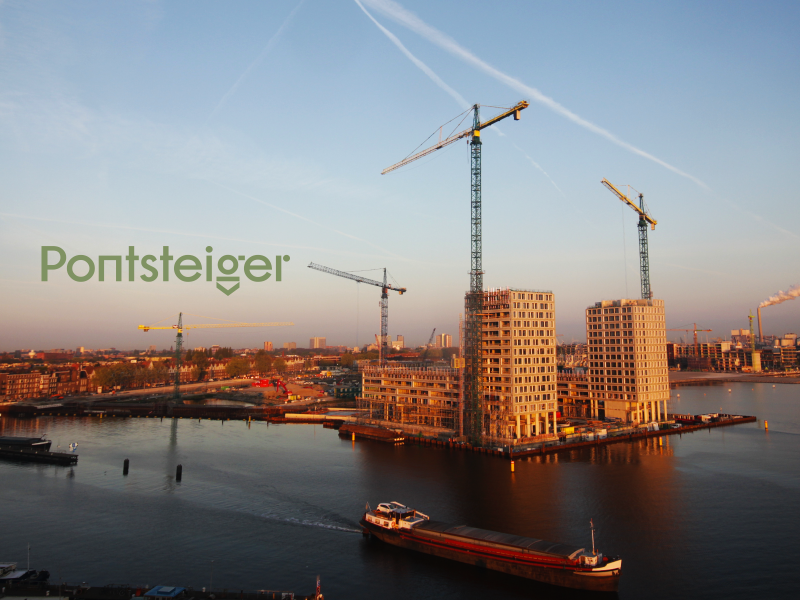 Bouw timelapse Pontsteiger: the making of (so far)