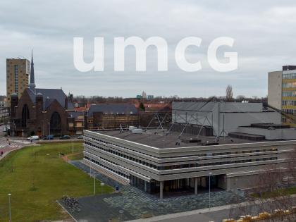Timelapse bouw protonentherapiecentrum UMCG