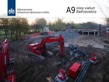 Timelapse sloop viaduct A9 Badhoevedorp