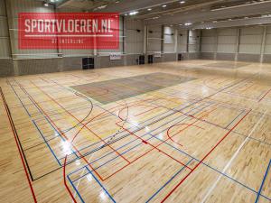 Timelapse: Installatie sportvloer Katholieke Universiteit Leuven