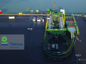 Timelapse of 'The most advanced cable laying vessel in the world'