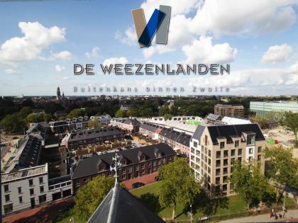 Timelapse opbouw nieuwbouwproject Weezenlanden Zwolle