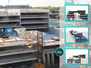 4D Timelapse Parkeerhuis Amsterdam Houthavens