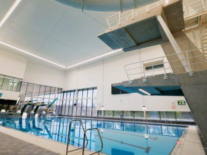 Timelapse bouw sportcomplex 'Amerena'