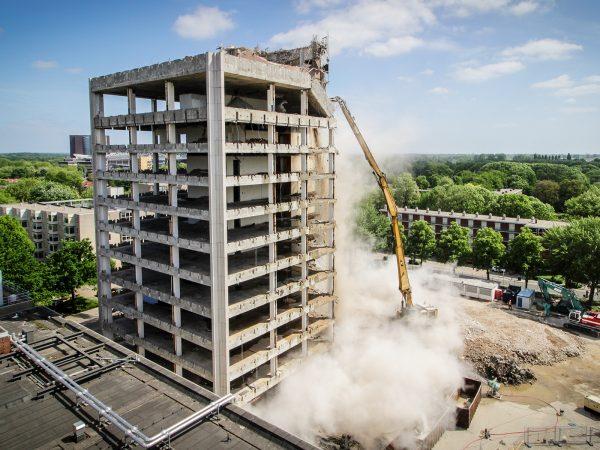 Sequoia SSH – Timelapse Sloop KPN toren Utrecht