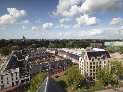 Timelapse nieuwbouw Weezenlanden Zwolle