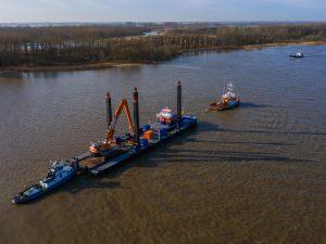 Timelapse: Een modulair ponton voor de Afsluitdijk