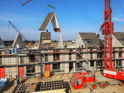 Timelapse Modulaire Huizenbouw Klokgroep
