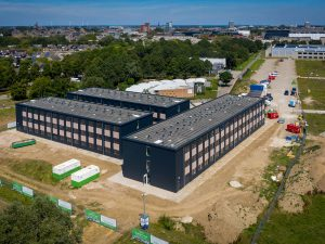 Timelapse bouw studentencampus Maastricht