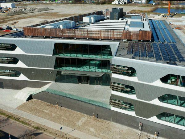 Timelapse nieuwbouw DuPont Nederland