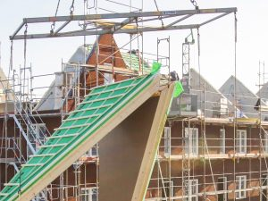 Timelapse huizenbouw Didam met Gevelklaar concept